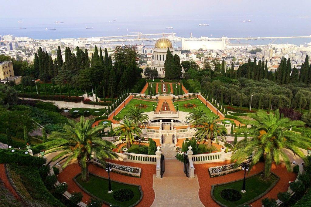 העיר חיפה מהגובה